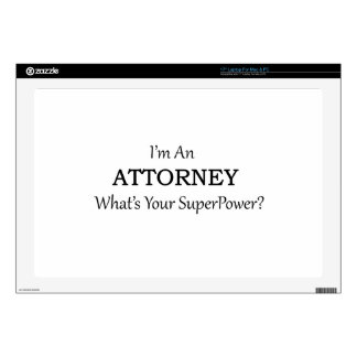 Attorney Laptop Decal