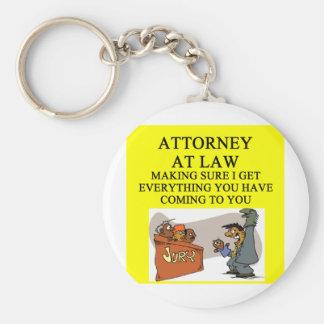 attorney lawyer joke basic round button keychain