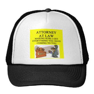 attorney lawyer joke trucker hat