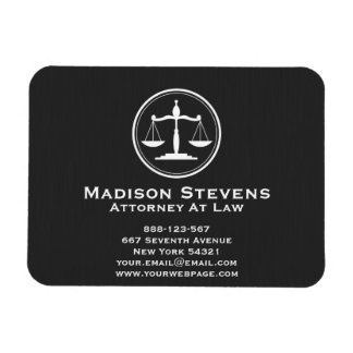 Attorney Lawyer Justice Scales Magnet