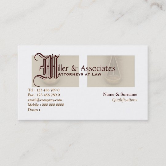 Law student business card 3 zazzle attorney lawyer law legal business card reheart Images