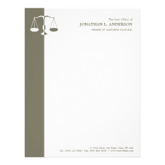 Attorney / Lawyer letterhead