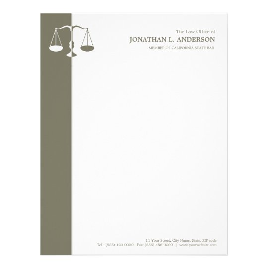 attorney lawyer letterhead