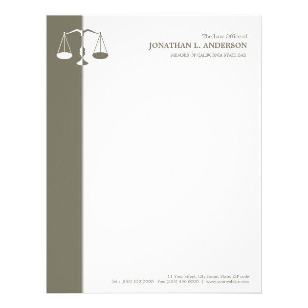Attorney / Lawyer letterhead | Zazzle