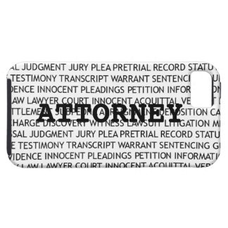 Attorney Legal Terminology iPhone SE/5/5s Case