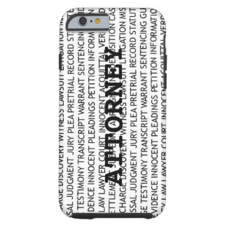 Attorney Legal Terminology Tough iPhone 6 Case