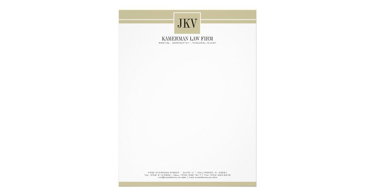 Personal letterhead templates