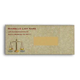 Attorney letters envelope