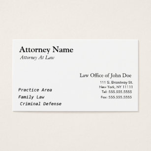 Paralegal business cards templates zazzle attorney modern simple clean elegant business card colourmoves
