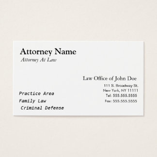 Legal Business Cards, 1900+ Legal Business Card Templates
