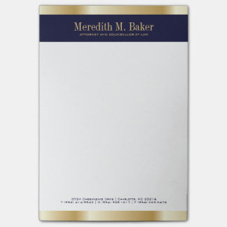 Attorney Note Pad
