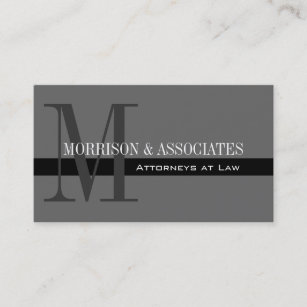 Attorney business cards 3300 attorney business card templates attorney professional business cards grey reheart Choice Image
