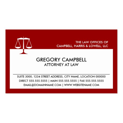 lawyer business card templates page48 bizcardstudio