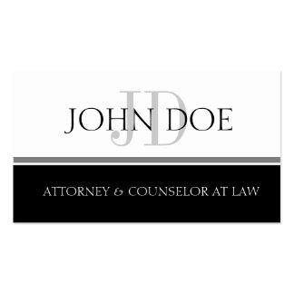 Attorney S Stripe W/W Business Cards