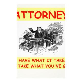 attorney stationery design