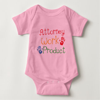 Attorney Work Product Baby tshirt