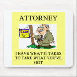 attorneys and lawyers joke mouse mats