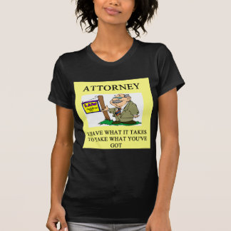 attorneys and lawyers joke shirts
