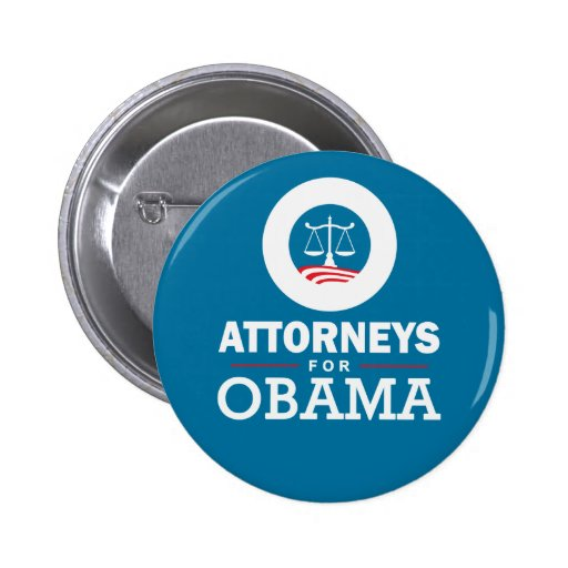 Attorneys for Obama Buttons