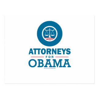 Attorneys for Obama Postcard