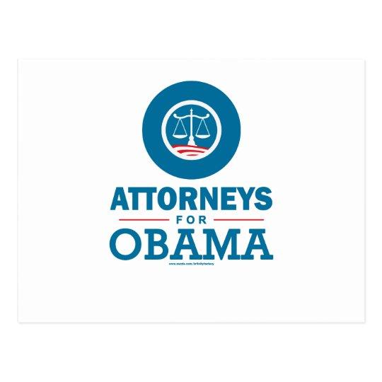 Attorneys for Obama Postcard