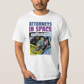 ATTORNEYS IN SPACE Men's Value T-Shirt