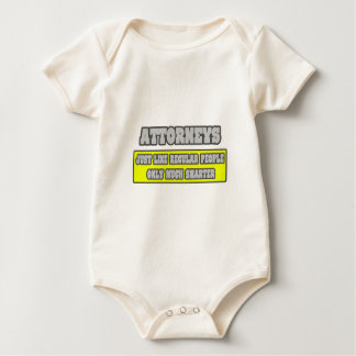 Attorneys...Much Smarter Baby Bodysuit