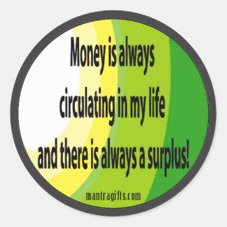 Attract Abundance Sticker