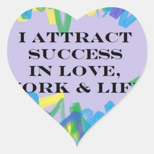 attract-success.jpg calcomania corazon
