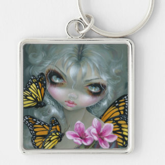 """Attracting Butterflies"" Keychain"