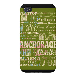 Attractions and Famous Places of Anchorage, Alaska iPhone 4/4S Cover