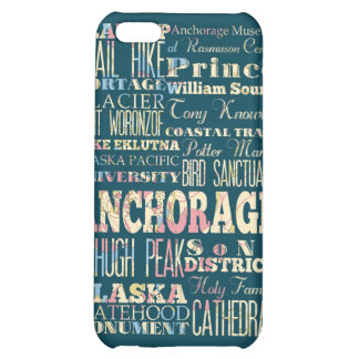 Attractions and Famous Places of Anchorage, Alaska iPhone 5C Case