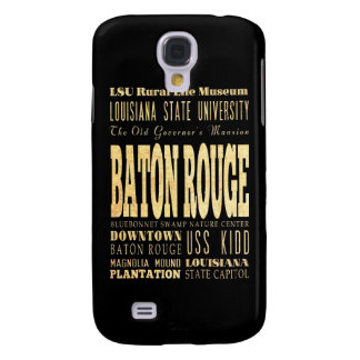 Attractions and Famous Places of Baton Rogue Samsung Galaxy S4 Cases