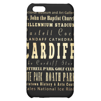 Attractions and Famous Places of Cardiff UK iPhone 5C Case