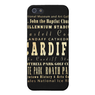Attractions and Famous Places of Cardiff UK Cover For iPhone 5