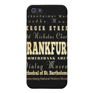 Attractions and Famous Places of Frankfurt iPhone 5 Covers