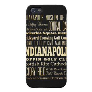 Attractions and Famous Places of Indianapolis Case For iPhone SE/5/5s