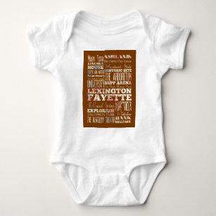 Lexington Kentucky Baby Clothes Apparel Zazzle