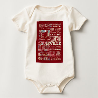 Attractions and Famous Places of Louisville Baby Bodysuit