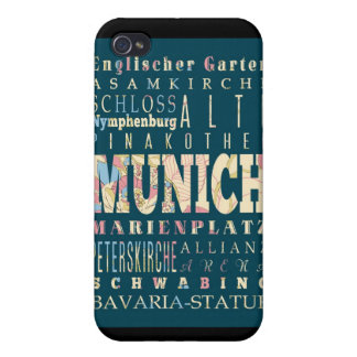 Attractions and Famous Places of Munich,Germany iPhone 4 Covers