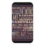 Attractions and Famous Places of Nashville iPhone 4/4S Covers