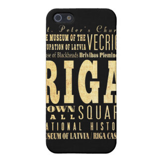 Attractions and Famous Places of Riga, Latvia Case For iPhone SE/5/5s