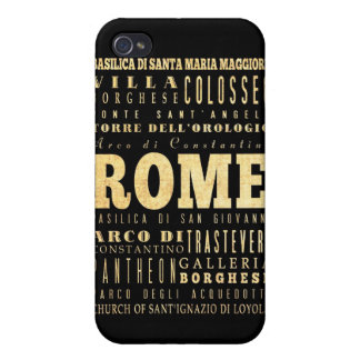 Attractions and Famous Places of Rome, Italy iPhone 4/4S Covers