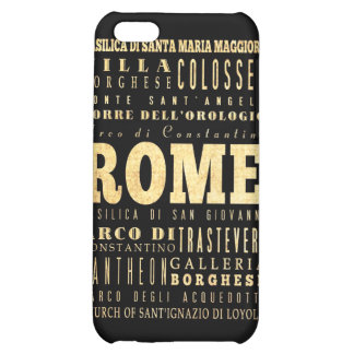 Attractions and Famous Places of Rome, Italy iPhone 5C Covers