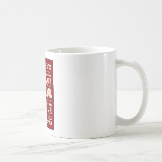 Attractions and Famous Places of Saint Paul Coffee Mug