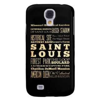 Attractions and Famous Places of St. Louis Galaxy S4 Case
