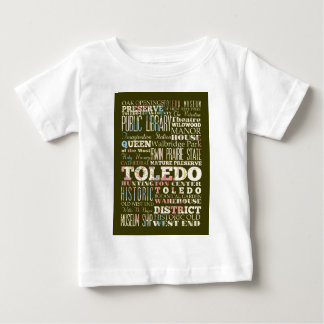 Attractions and Famous Places of Toledo, Spain Infant T-shirt