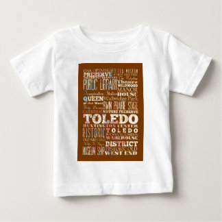 Attractions and Famous Places of Toledo, Spain Shirt