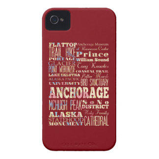 Attractions & Famous Places of Anchorage, Alaska. iPhone 4 Covers