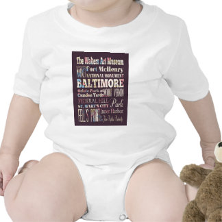 Attractions & Famous Places of Baltimore, Maryland Baby Creeper